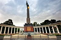 Russian Liberation Monument, Vienna, Austria