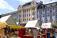 Hviezdoslav´s Square, Bratislava, Slovakia