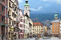 Streets of Innsbruck, Austria