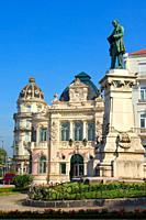 Coimbra, Largo da Portagem, Old town, Beira Litoral, Portugal, Europe.