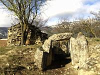 San Martin dolmen in La rioja. Spain