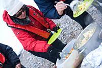 Arctic BBQ Svalbard, Norway