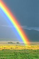Rainbow, Colorado Rocky mountains