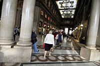 Shopping arcade Galleria Alberto Sordi. Palazzo Piombino, 1914. Rome, Italy.