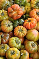 Tomatoes. Campo dei Fiori square market, Rome, Italy