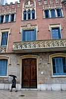 Casa Rull, 1900, Modernism, architect: Lluis Domenech i Montaner, Reus, Catalonia, Spain.