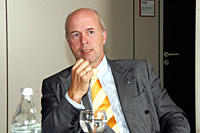 Carl Peter Foster, chairman of Opel , GM Group Vice President, President GM Europe
