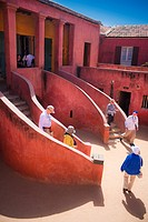 02/04/2009 Senegal, Dakar, Island of Goree, the beach, Unesco World Heritage, The island of Goree was a traditional slaving and trading port, by the c...