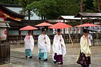 Yasaka Jinja Shrine, Gion, Kyoto, Japan.