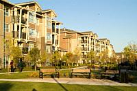 townhouse development in Burnaby, BC, Canada.