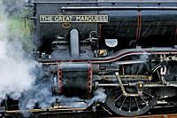 The Harry Potter Steam Train, Mallaig, Highlands, Scotland, United Kingdom, Europe