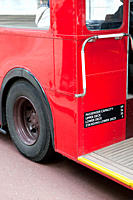 Red bus, London (thumbnail)