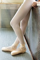 Legs of a ballerina