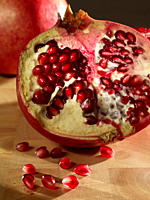 Pomegranate, close_up