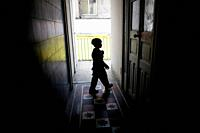 A boy plays in a shelter for chronically ill children run by the San Judas Tadeo Foundation in Mexico City. With the current crisis the foundation is ...