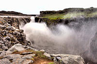 Dettifoss Waterfall, Iceland Mightest Waterfall in Europe