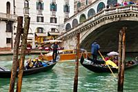 Grand Canal, Venice, Capital of the region of Veneto, Italy, Adriatic Sea, Mediterranean Sea.