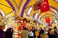 The Grand Bazaar, Istanbul, Turkey.