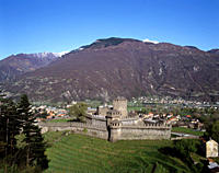 Bellinzona _ View of Castello Di Montebello