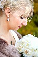 A profile photo of a bride