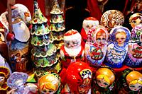 New Russian Christmas nested dolls