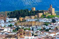 Alcazaba fortress (12th-16th century), Antequera, Malaga province, Andalusia, Spain