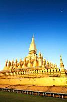 Pha That Luang Pha Tat Luang, Vientiane, Laos