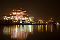 Night Scene of Tang Paradise,Xian
