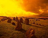 Beaghmore Stone Circles, Near Cookstown, Co Tyrone,