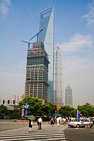 Shanghai,Pudong,World Financial Center