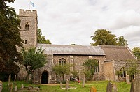 The church of st  Andrew in Trowse , Norwich , Norfolk , England , Great britain , Uk