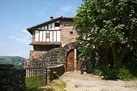 Ursua Palace, Bozate quarter, Arizcun Arizkun, Baztan Valley, Navarra Nafarroa, Spain España