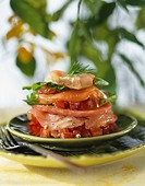 Raw fish Mille-feuille (thumbnail)