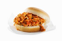 Sloppy Joe, White Background