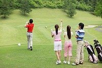 People Playing Golf