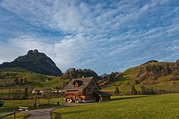 Farmhouse in Stein in the Toggenburg area, Kanton St. Gallen, Switzerland, Europe