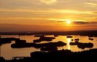 Lake Kallavesi near Kuopio - Savo - Finland