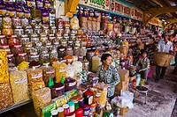 Binh Tay Market Cho lon. Ho Chi Minh City (formerly Saigon). South Vietnam