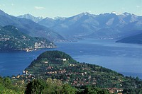 europe, italy, lombardy, lecco province, bellagio, como lake