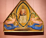 The Assumption of the Virgin, ca  1337-1339, by Bernardo Daddi Italian Florentine, active by 1327, probably died 1348, Tempera on wood, gold ground 42...