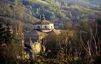 Samos monastery  The Way of St  James  Lugo  Galicia  Spain