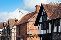 William Shakespeare s birthplace in the market town of Stratford upon Avon Warwickshire England