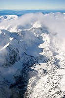 Estany, aerial view  Aiguestortes National Park  Pyrenees  Lerida province  Catalonia  Spain