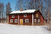 deserted house, Finland