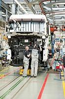 Production of trucks, Man AG company, Munich, Bavaria, Germany, Europe