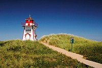 Covehead Lighthouse in Prince Edward Island Canada