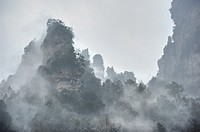 Shilihualang or 10-Mile-Gallery, Zhangjiajie, Hunan, China.