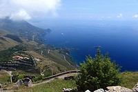 Italy, Basilicata, Maratea, the Coastline