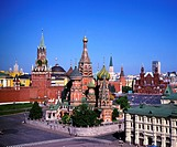 Moscow, St. Basil Cathedral,