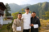 English chef, Amankora Hotel, Punakha, Bhutan, Kingdom of Bhutan, South Asia